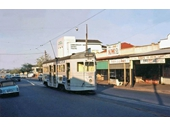 63 - A tram on Sandgate Road, Clayfield