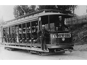 6 - An early electric tram