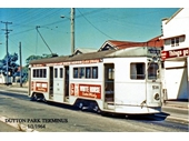 74 - A tram at the Dutton Park terminus