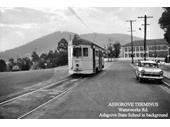 77 - A tram at the Ashgrove terminus