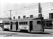 78 - A tram at the Mt Gravatt terminus
