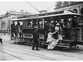 7 - An early electric tram