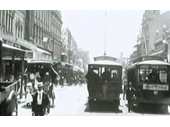9 - Early electric trams on Queen St