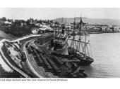 109 - Coal ships at South Brisbane