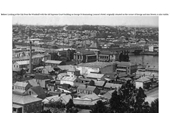 120 - Brisbane from the Windmill in the late 1800's