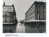 123 - Edward St during the 1893 Flood