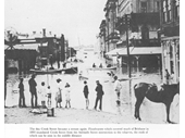 125 - Creek St during the 1893 Flood