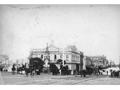 128 - Queen and Eagle Sts during the 1893 Flood