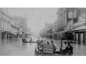 129 - Floating the New Loan during the 1893 Flood