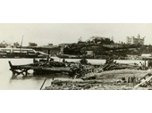 134 - Damage wreaked at Kangaroo Point by the 1893 Flood