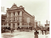 145 - The AMP building on Queen and Edward sts in 1898