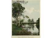78 - Stanley Bridge over Norman Creek in 1888