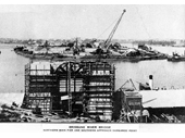 137 - The Story Bridge being built