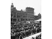 70 - The Brisbane General Strike of 1912 at Market Square (later King George Square)