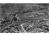 87 - Brisbane from the air in the 1920's