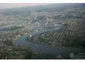 103 - Brisbane from the air in the 1960's