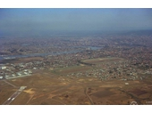 104 - Eagle Farm Airport and Racecourse from the air in the 1960's