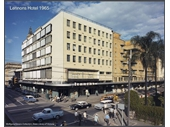 108 - Lennons Hotel in 1965 when still on corner of Ann and George Sts