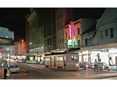 11 - Queen St at night