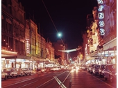 12 - Queen St at night