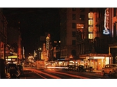 14 - Queen St at night