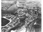 43 - Aerial view above Albion