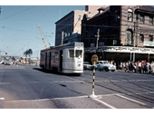 61 - Tram at corner of Queen and George Sts