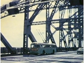 67 - Trolley Bus crosses Story Bridge