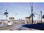 71 - Tram about to cross Victoria Bridge