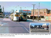 97 - Trams at Valley Five-ways