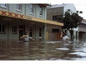 52 - Port Office Hotel during the 1974 Flood