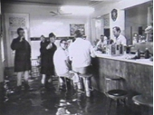59 - Business as usual at the Regatta Hotel during the 1974 Flood