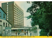 64 - Park Royal Motor Inn during the 1974 Flood