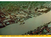 66 - West End and Davies Park during the 1974 Flood