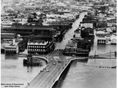 80 - South Brisbane during the 1974 Flood