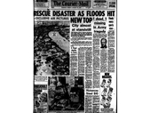 83 - Courier Mail front page during the 1974 Flood