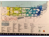 130 - Map of World Expo 1988