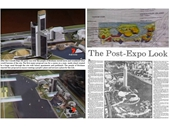 132 - Early plans for the Expo Site after Expo 88