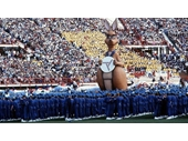 18 - Matilda at the Opening of the 1982 Commonwealth Games