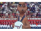 21 - Matilda winking at the Opening of the 1982 Commonwealth Games