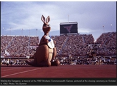 33 - Matilda at the Closing Ceremony of the 1982 Commonwealth Games