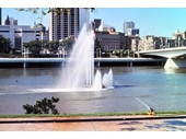 35 - The Silver Jubilee Fountain on the Brisbane River at South Brisbane