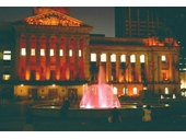 79 - King George Square at night