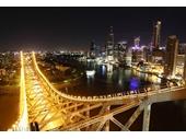 134 - Brisbane CBD and Story Bridge at night