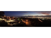 135 - Brisbane CBD and Mt Coot-tha at night