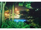 14 - Southbank Lagoon at night