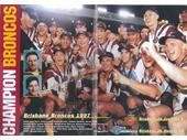 22 - Brisbane Broncos win the 1997 Super League Grand Final in Brisbane