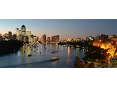 46 - City from Kangaroo Point at twilight