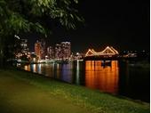 48 - View towards Story Bridge at night from Botanic Gardens