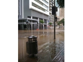 95 - Corner of Mary and Albert Sts during the 2011 Brisbane Flood